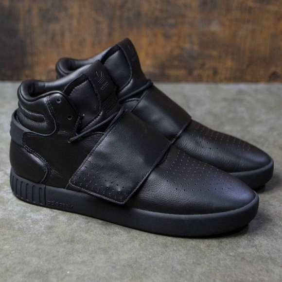 b33454dc838f Adidas Tubular Invader Strap Shoe in Utility